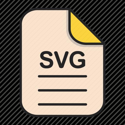 Document, file, file svg, generic file, illustrator icon - Download on Iconfinder