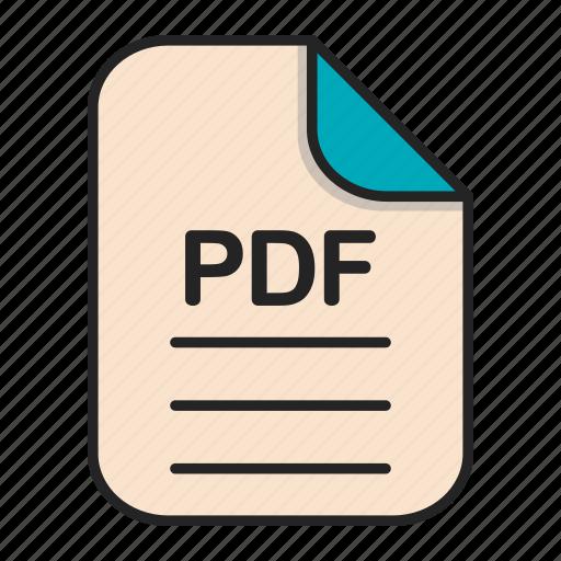 Document, file, generic file, illustrator, pdf, vector format icon - Download on Iconfinder