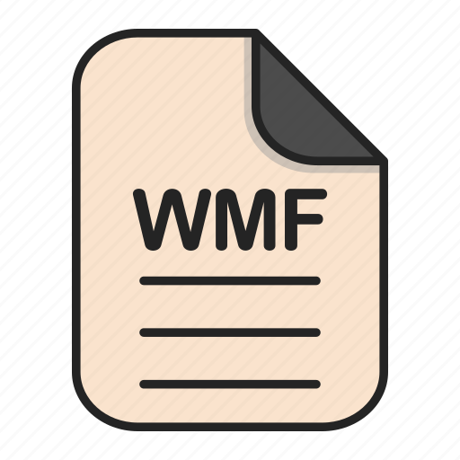 Document, file, generic file, illustrator, vector format, wmf icon - Download on Iconfinder