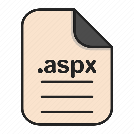Aspx, document, extension, file, format, type icon - Download on Iconfinder
