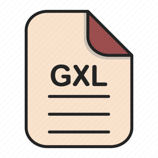 document, file, generic file, gxl, illustrator, vector format icon