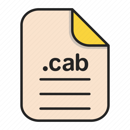 archieve, cab, compressed, document, file, format icon