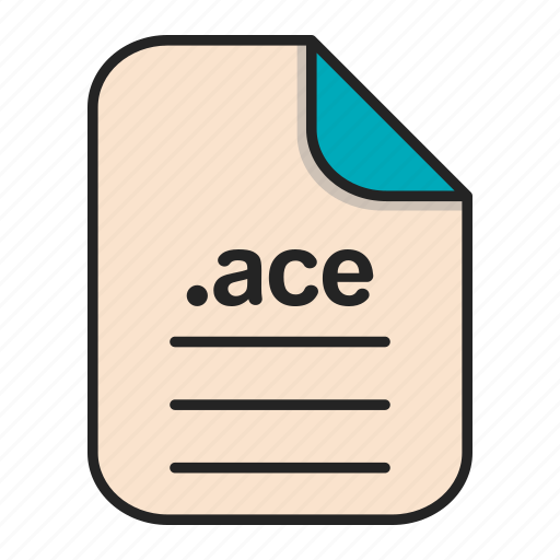 Ace, compressed, document, file, format icon - Download on Iconfinder