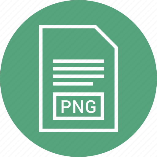 extention, file, png, type icon