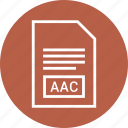 aac, extention, file, type