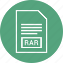 document, extension, file, rar