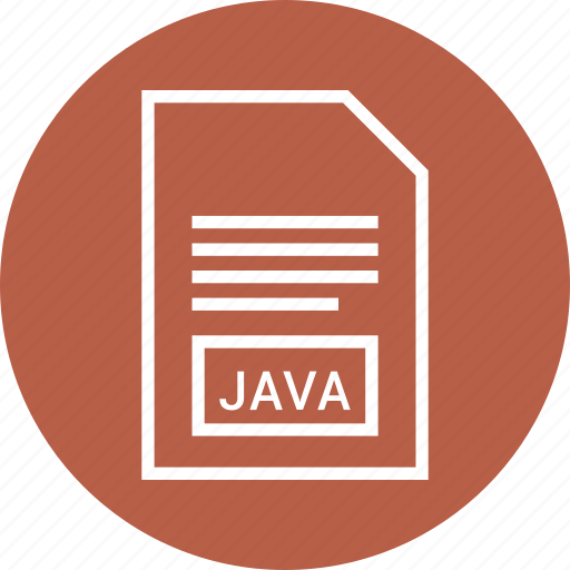 extention, file, java, type icon