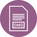 extention, type, file, dmg icon