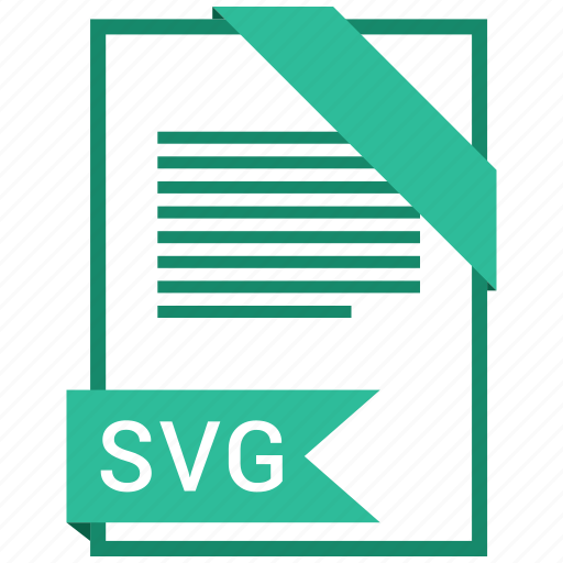document, file, format, svg file, type icon
