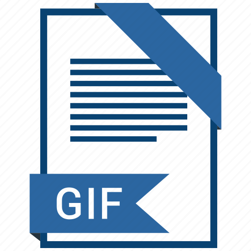 document, file, format, gif, type icon