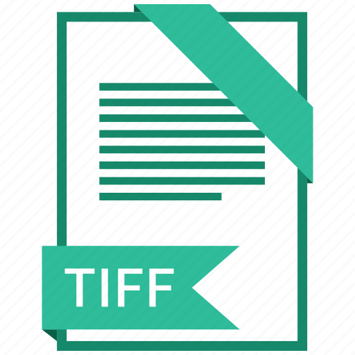 extention, file, tiff, type icon