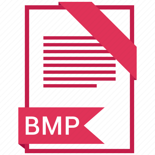 bmp, document, extension, format, paper icon