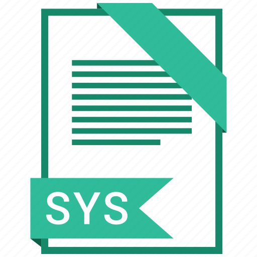 document, extension, file, format, paper, sys icon