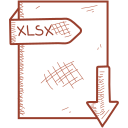 document, file, format, slsx icon