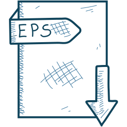 document, eps, file icon