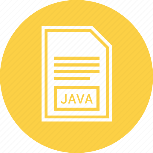 Document, file, format, java icon - Download on Iconfinder