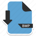 bmp, document, extension, file, format, page icon
