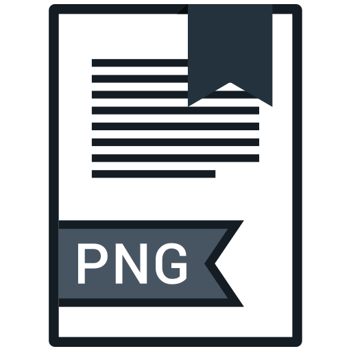 document, extension, file, png file icon