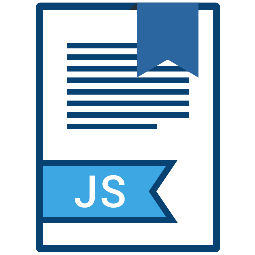 Extension, name, file, js icon