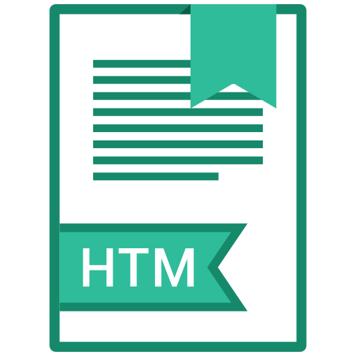document, file, format, htm icon