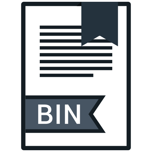 Bin, document, extension, file, format icon - Free download