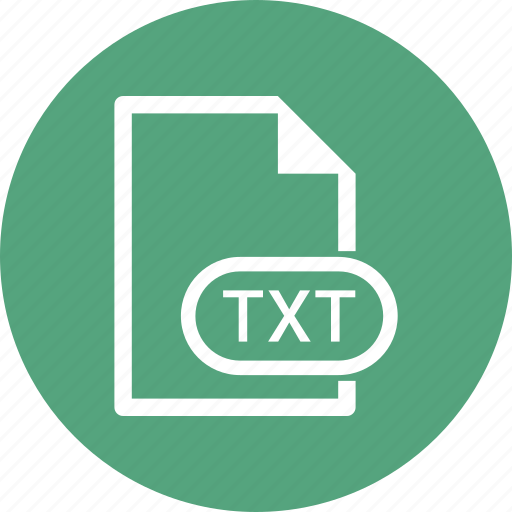 Document, extension, file, txt icon - Download on Iconfinder