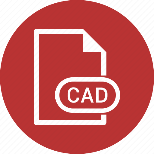 cad, extension, file, file format icon