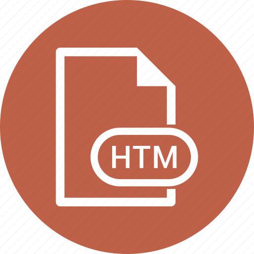 Extension, file, file format, htm icon - Download on Iconfinder