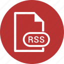 document, extension, file, rss