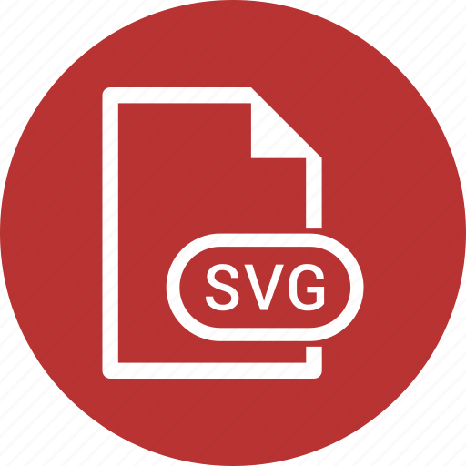 document, extension, file, svg file icon