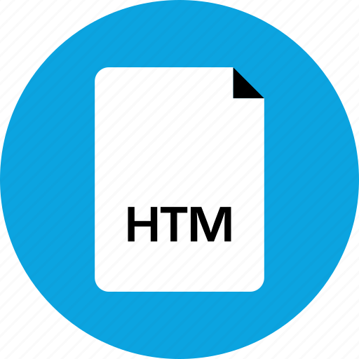 Htm, extension, file icon