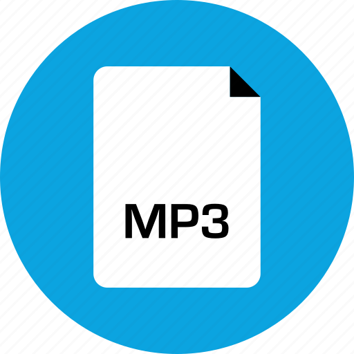 extension, file, mp3 icon