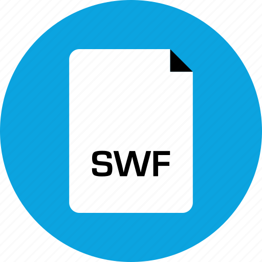 extension, file, swf icon