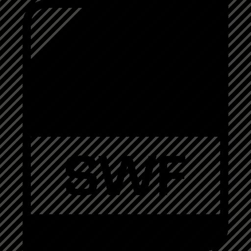extension, file, name, swf icon