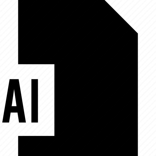 data, file, illustrator ai, name icon
