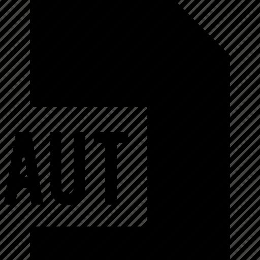 aut, data, file, name icon