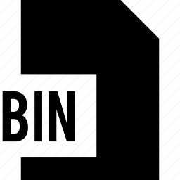 bin, data, file, name icon