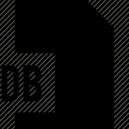 data, db, file, name icon