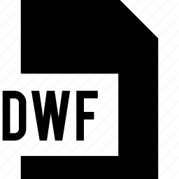 data, dwf, file, name icon