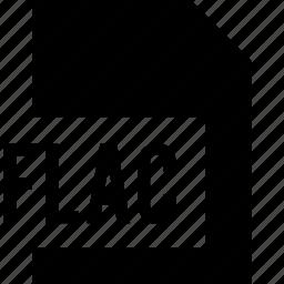 data, file, flac, name icon