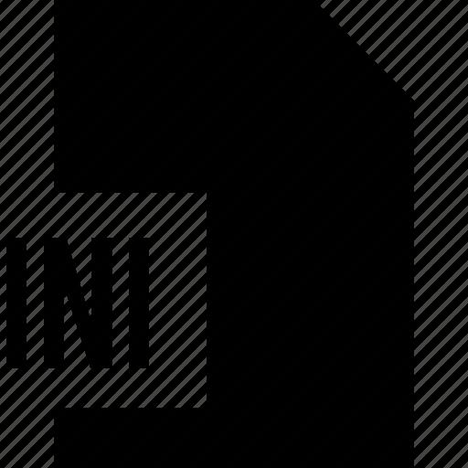 data, file, ini, name icon