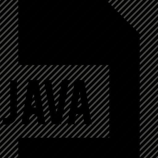 data, file, java, name icon