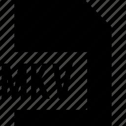 data, file, mkv, name icon