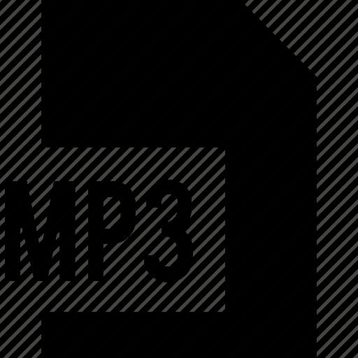 data, html, mp3 icon