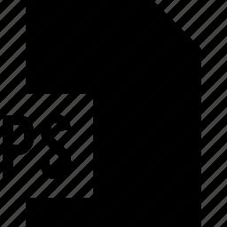 data, file, ps icon