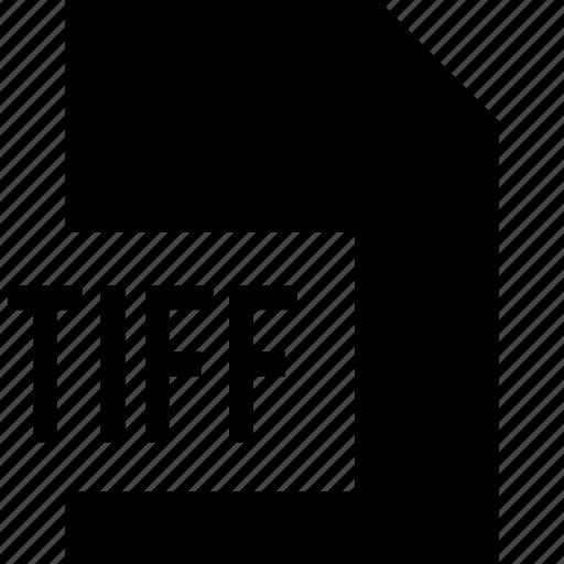 data, file, tiff icon