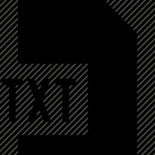 data, file, txt icon