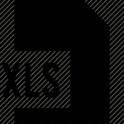 data, file, xls icon