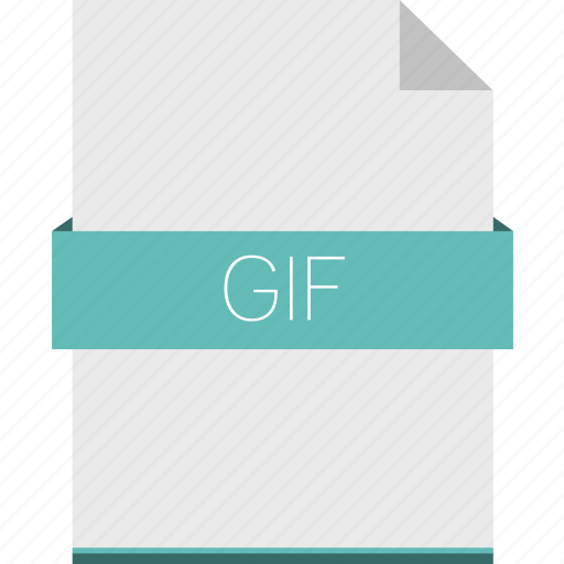 extension, file, format, gif, image, raster icon