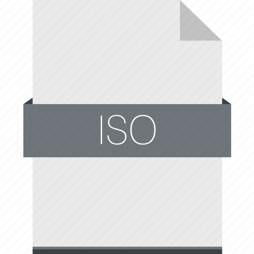 compression, extension, file, format, iso icon